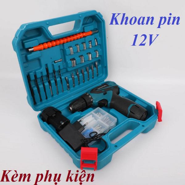 máy khoan pin 12V - 12W