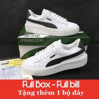 Tặng hộp, bill và Dây lụa - Giày thể thao nam nữ Puma loại đế vân răng cưa, size 36-39. thumbnail