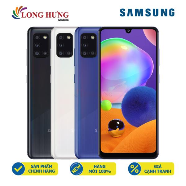 [Trả góp 0%] Điện thoại Samsung Galaxy A31 (4GB/64GB) - Hàng chính hãng - Màn hình 6.4  Full HD+ bộ 4 Camera sau Camera Macro 5MP Pin 5000mAh sạc nhanh siêu tốc 15W chính hãng