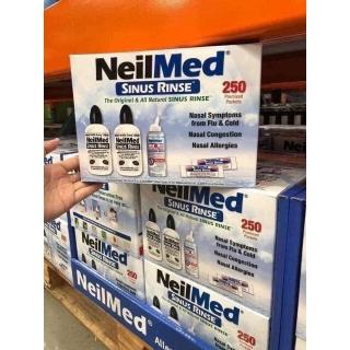 Bộ dụng cụ rửa mũi NeilMed Sinus Rinse 250 gói muối thumbnail