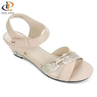 Giày sandal đế xuồng quai chéo Dolapo SAD224 - Sandal đế xuồng đẹp