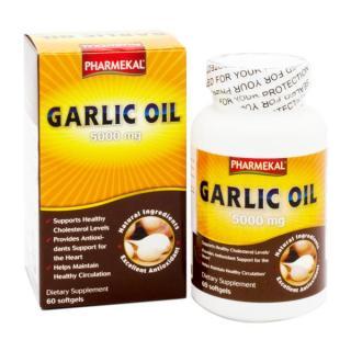 Viên Uống Dầu Tỏi Tốt Cho Tim Mạch, Tiêu Hóa Garlic Oil Pharmekal - 60 Viên thumbnail