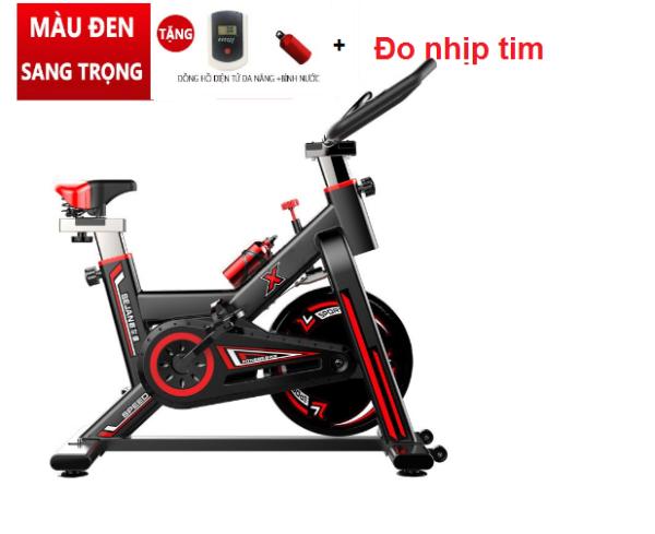 Xe đạp thể dục Sejian ( model : gh709 ) Tặng kèm bình nước, đồng hồ cảm biến nhịp tim