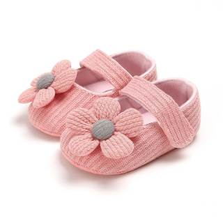Tôi Yêu Daddy & Xác Ướp Dễ Thương Flower Bé Gái Giày Mềm Sole Cotton Sơ Sinh Toddler Girl Giày Non-slip Trẻ Sơ Sinh Cô Gái First Walkers Giày Schoenen