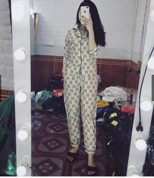 (Dưới 60kg)Bộ Ngủ Pijama Dài Tay Sau Sinh, Mặc Nhà Vải Kate Thái Lan- Cam Kết Vải Đẹp-Giao Đúng Mẫu-Ảnh Thật