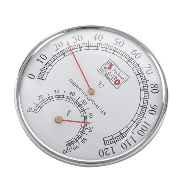 Bảng giá Sauna Thermometer Metal Case Steam Sauna Room Thermometer Hygrometer Bath And Sauna Indoor Outdoor Used Điện máy Pico