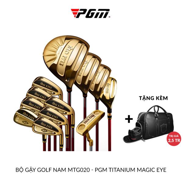 BỘ GẬY GOLF NAM MTG020 - PGM TITANIUM MAGIC EYE
