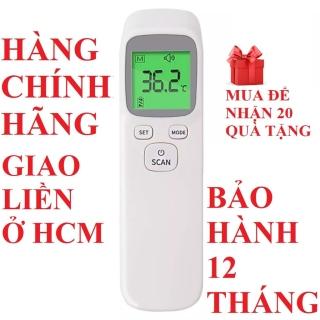 Nhiệt kế hồng ngoại nhiệt kế điện tử đo sữa nước thân nhiệt không tiếp xúc cảnh báo sốt an toàn cho bé thumbnail