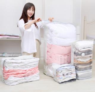 Túi hút chân không bảo quản quần áo chăn màn - Gọn gàng, chống nấm mốc thumbnail