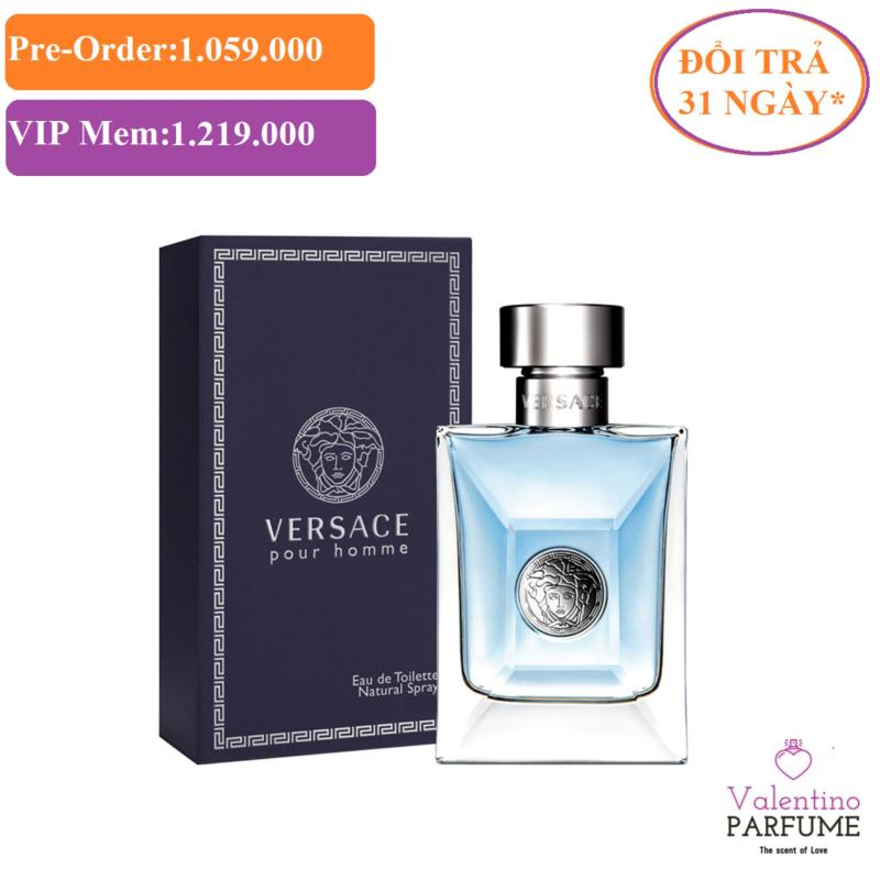 Nước hoa cao cấp Versace Pour Homme EDT Men 100ml - Đổi trả 31 ngày