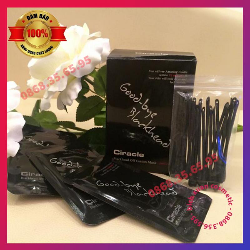 MẶT NẠ ĐẨY MỤN ĐẦU ĐEN GOODBYE BLACKHEAD CIRACLE 20 MIẾNG nhập khẩu