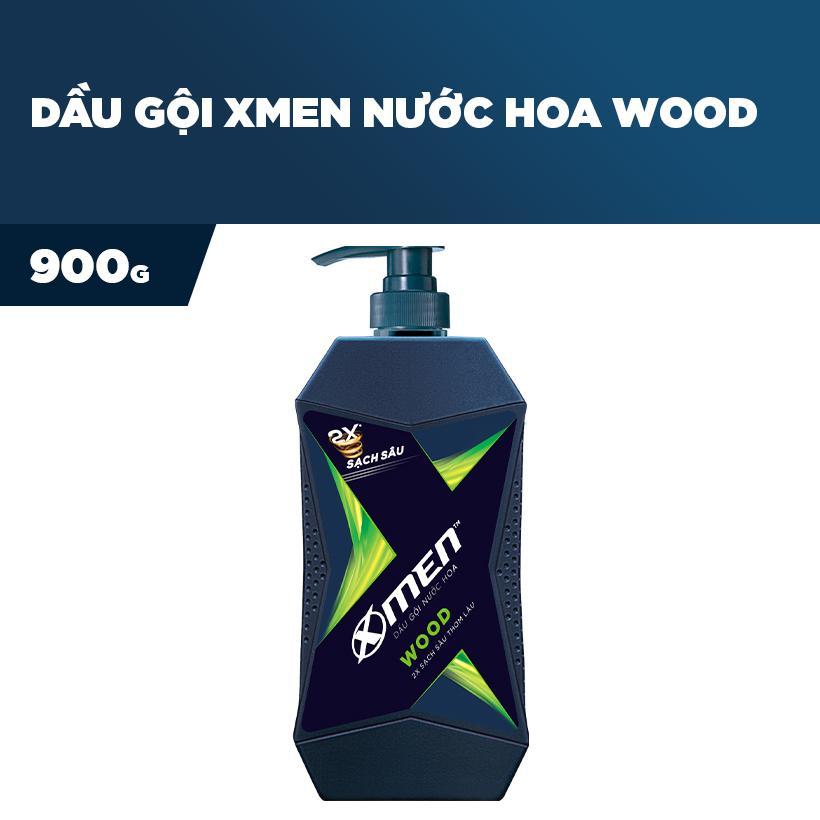 Dầu gội nước hoa X-Men Wood 900g