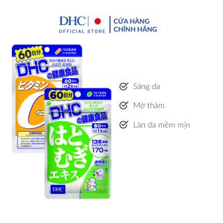 Combo Viên uống DHC Sáng da - Mờ thâm 60 Ngày (Adlay & VitaminC) thumbnail