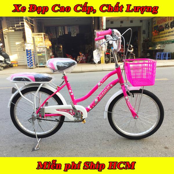 Mua Xe đạp trẻ em HITASA, Xe đạp bánh 20inch cho nữ 7-12 tuổi