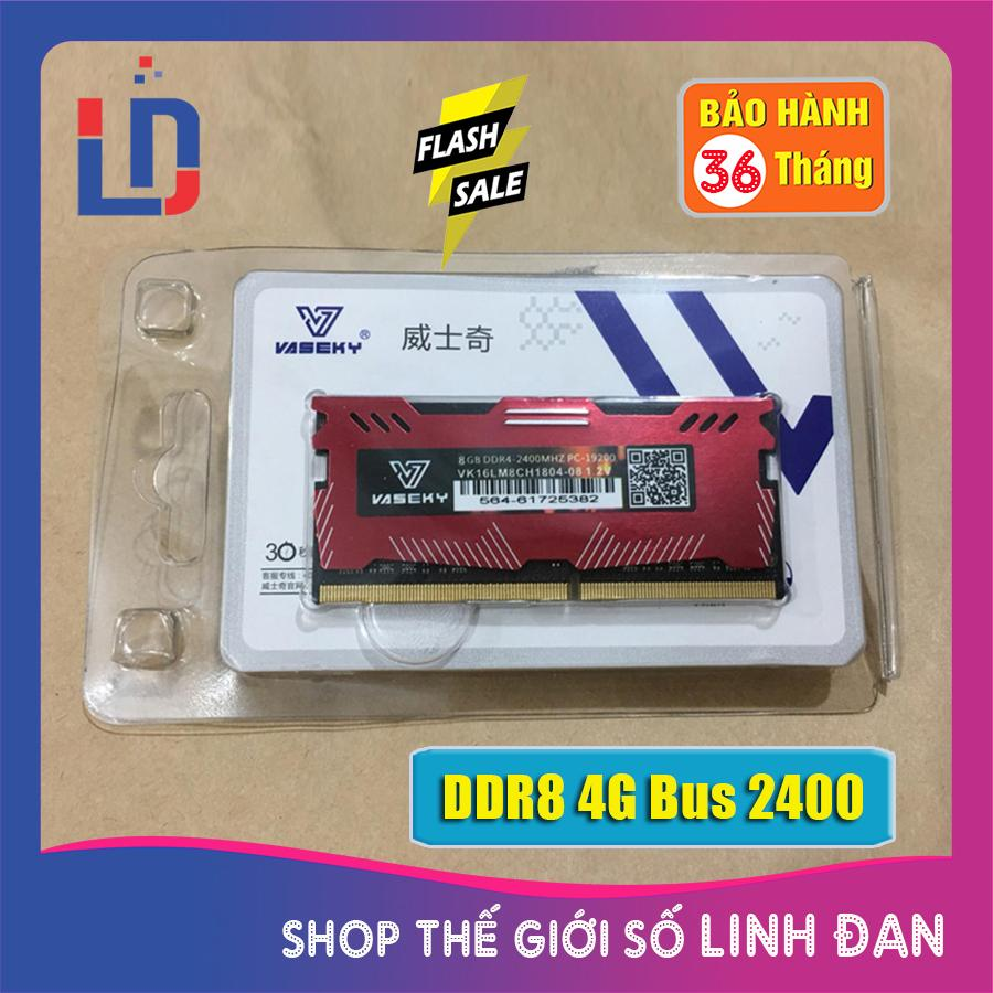 Giá Ram Laptop 8GB DDR4 Bus 2400 (nhiều hãng)samsung/hynix/kingston/micron/ crucial/navia/eldipa.. PC4.