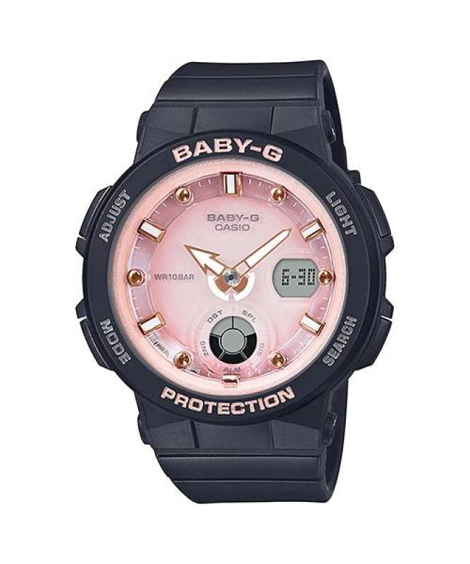 Đồng hồ casio nữ dây nhựa chính hãng BABY-G BGA-250-1A3DR