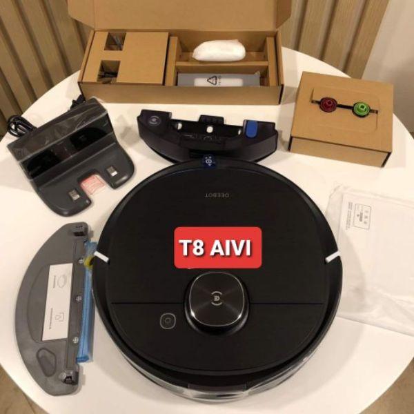 Robot  Ecovacs Deebot T8 AIVI- Hàng mới 100% -Bảo Hành 12 Tháng