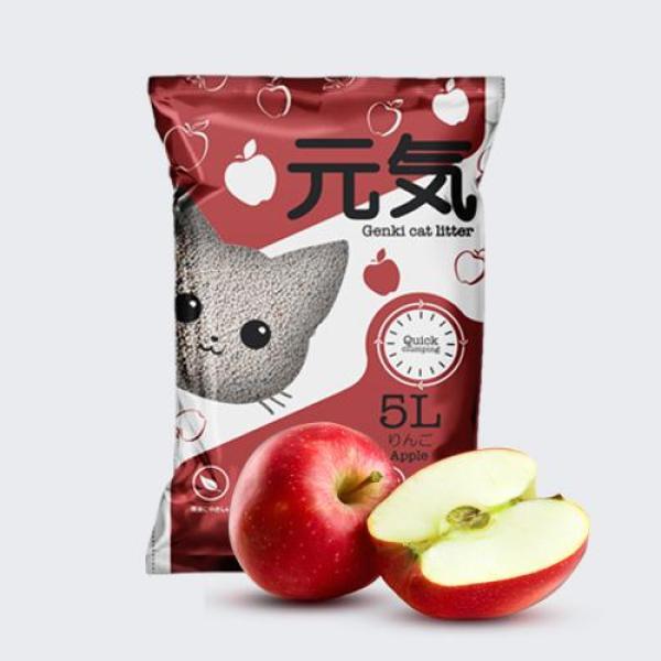 Cát GENKI Nhật Bản - 5L Cát vệ sinh cho mèo - 9 mùi