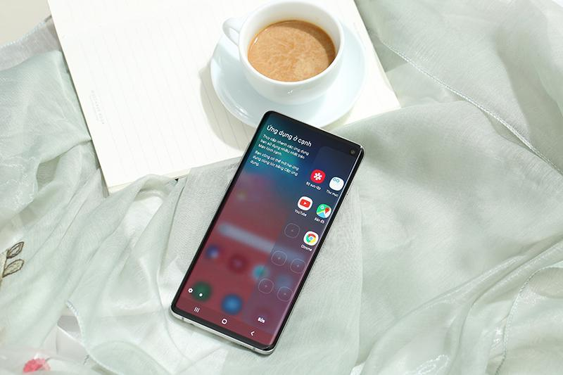 Điện Thoại Samsung Galaxy S10 Bản 1Sim Thiết Lột Xác - Cảm Biến Vân Tay Siêu Âm - Hiệu Năng Mạnh Mẽ - Dung Lương Pin Khủng.