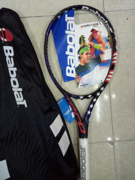 Bảng giá Vợt tennis Babolat 280g tặng căng cước quấn cán và bao vợt - ảnh thật sản phẩm