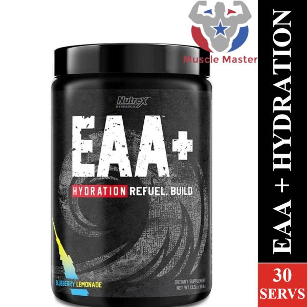 Thực Phẩm Bổ Sung Siêu Phục Hồi Cơ Nutrex EAA + Hydration 30 Lần Dùng