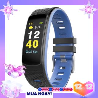 Vòng đeo tay thông minh theo dõi sức khỏe đo nhịp tim, đếm bước chân, tính lượng calo tiêu hao IWOWN I6 HRC (Màn hình mầu) - Hãng phân phối chính thức - An Tiến thumbnail
