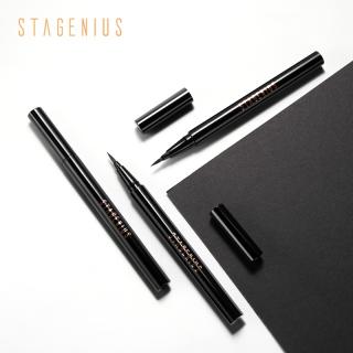 STAGENIUS Long-lasting waterproof black liquid eyeliner thumbnail