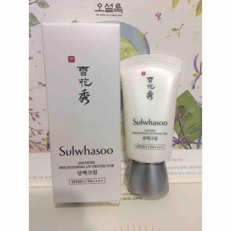 Kem chống nắng sulwhasoo Snowise Brightening UV Protector SPF50+/PA++++ 20ml nhập khẩu