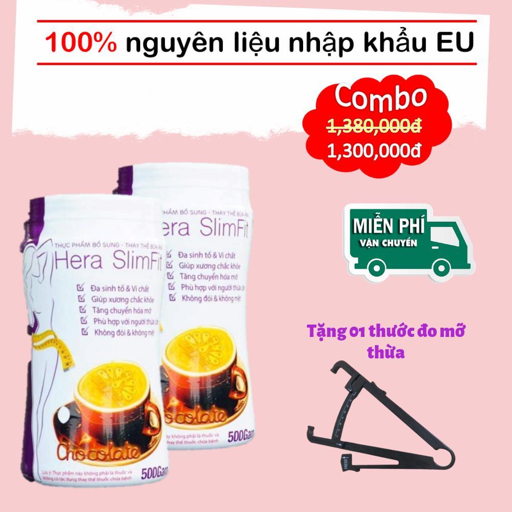 Sữa Giảm Béo Khoa Học Không Mệt - Không Mất Nước - Hera SlimFit 500gr