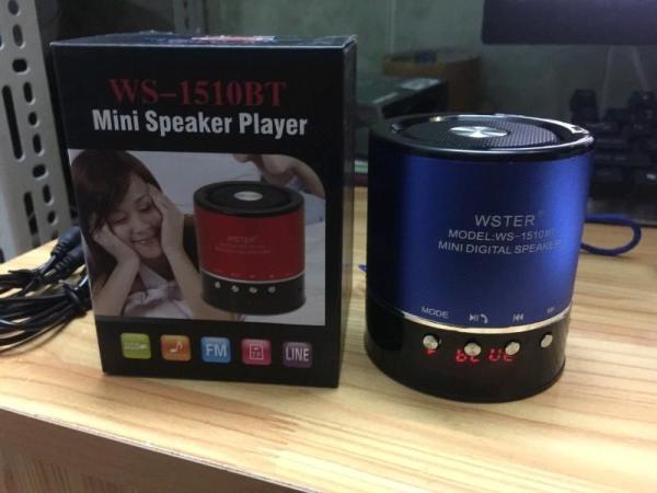 Loa Nghe Nhạc Bluetooth WS-1510BT - WS 1510BT xanh đỏ đen giá rẻ