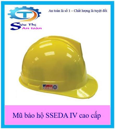 Mũ bảo hộ SSEDA IV cao cấp chất lượng an toàn nón cứng  bảo vệ đầu- Tặng khẩu trang 3M 9001