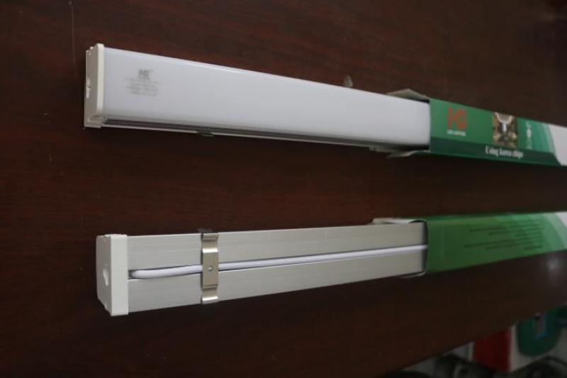 Đèn led bán nguyệt 1,2m 45w thân nhôm cao cấp (sáng trắng)