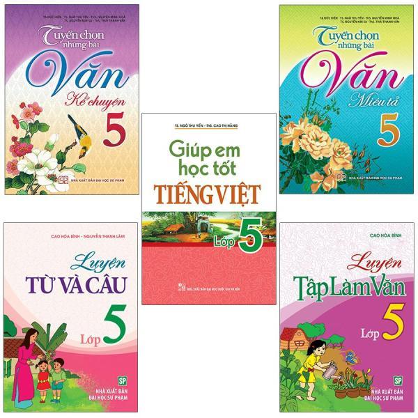 Mua Sách: Combo Tiếng Việt Toàn Diện Lớp 5 (5 Cuốn)