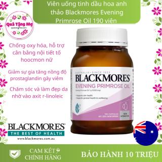 Thực phẩm bổ sung hỗ trợ cân bằng hormone, nội tiết tố nữ - Blackmores Evening Primrose Oil 190 Viên thumbnail