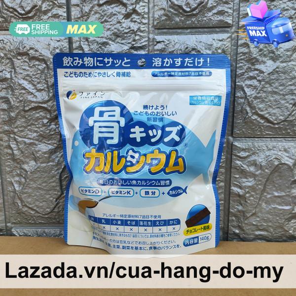 Bột Xương Cá Tuyết bổ sung Canxi Chiết Xuất Từ Cá Tuyết Nhật Bản Fine túi 140g nhập khẩu