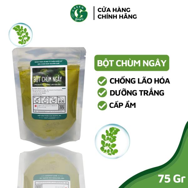 [HCM]100gr Bột chùm ngây sấy lạnh nguyên chất sạch Organic - Handmade - B2.001