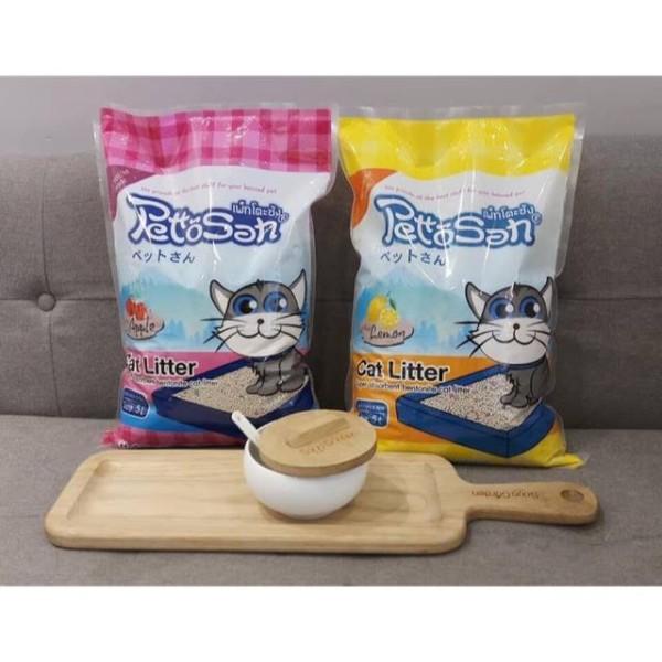 Cát vệ sinh cho mèo Pettosan 5L
