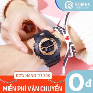 Đồng hồ điện tử thể thao nam nữ S182, Đồng hồ đi học đi chơi, chống nước sinh hoạt, phong cách Hàn Quốc, nhiều màu lựa chọn thumbnail