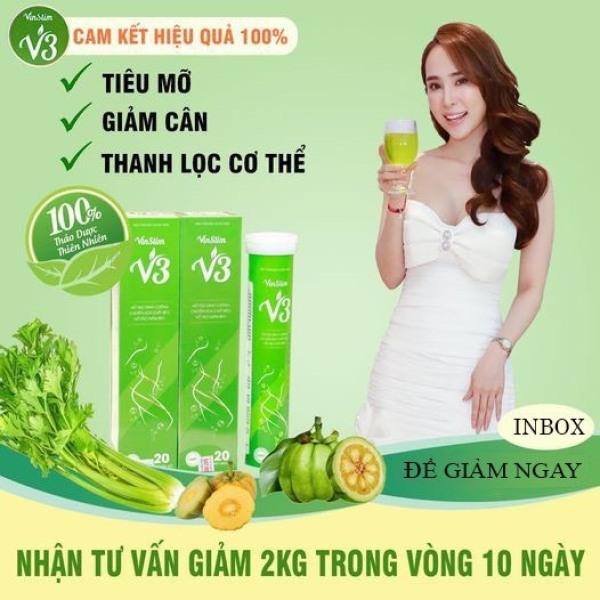 [ V3 ] Viên sủi giảm cân Vinslim V3 |CAFANI Shop| nhập khẩu