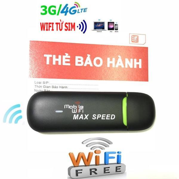 USB PHÁT WIFI MAX SPEED GẮN SIM VÀO USB - CẮM VÀO NGUỒN ĐIỆN LÀ LƯỚT MẠNG TẸT GA