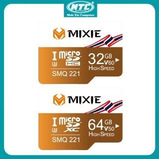 [HCM]Thẻ nhớ MicroSDXC Mixie 32GB 64GB UHS-II U3 4K V60 100MB s (Vàng) - Nhất Tín Computer thumbnail