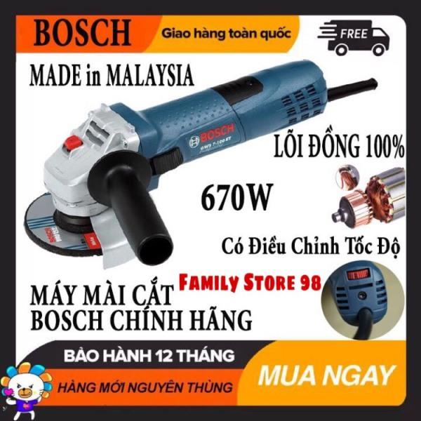 Máy mài góc chính hãng giá rẻ Máy mài cầm tay Bossch GWS 6-100 Công suất 670W đá mài 100 - Dòng bán chạy nhất Bossch năm 2021