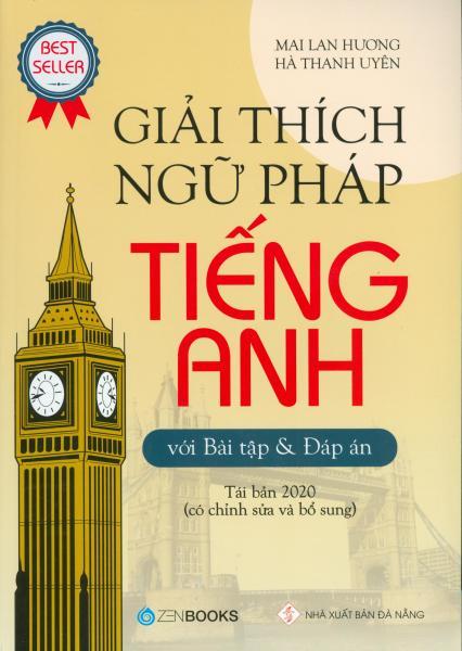 Mua Giải Thích Ngữ Pháp Tiếng Anh Với Bài Tập Và Đáp Án