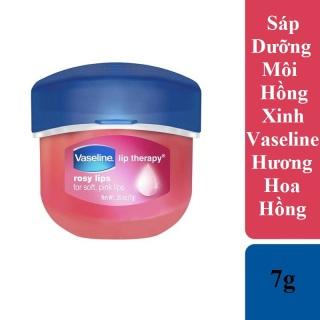 Sáp Dưỡng Môi Hồng Xinh Vaseline 7g Hương Hoa Hồng - Vaseline Lip Therapy Rosy thumbnail