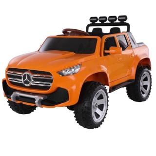 Ô tô xe điện đồ chơi mẫu bán tải MERCEDES ABM-3388 cho bé 2 ghế da 4 động cơ (Đỏ-Trắng-Xám-Vàng) thumbnail