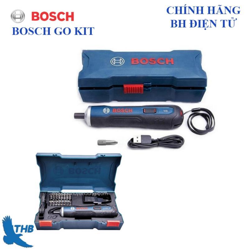 Máy vặn vít dùng pin Bosch Go 33 chi tiết ( KIT)