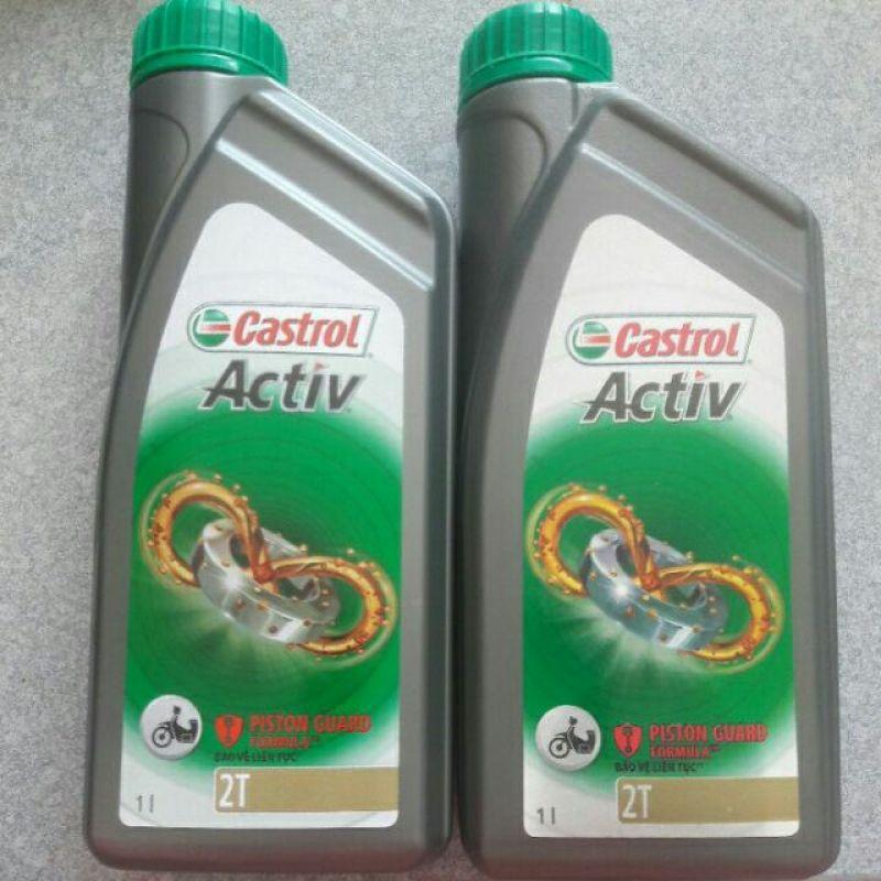 Nhớt 2 thì Castrol Activ 1lit