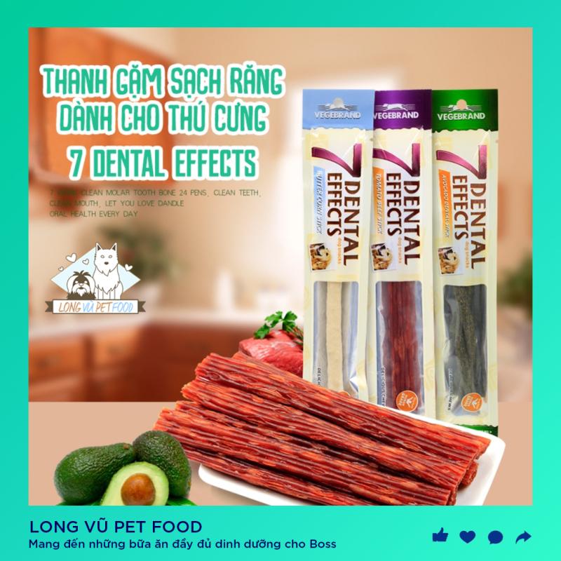 Xương Gặm Sạch Răng 7 Dental Effects - Xương Thưởng Bánh Thưởng Snack Cho Chó