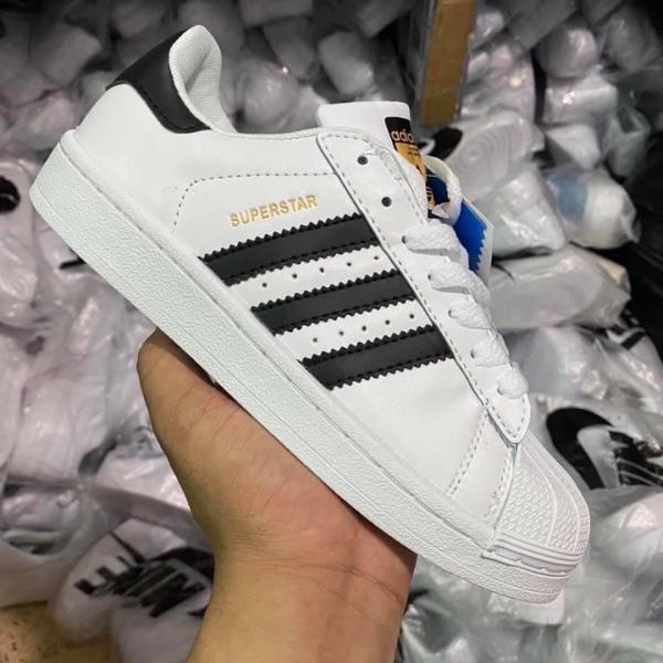 Giày sneakers adidas nam nữ, giầy thể thao đẹp, adidas superstar sò tem vàng giá rẻ, giày đi chơi, dạo phố,đi bộ.