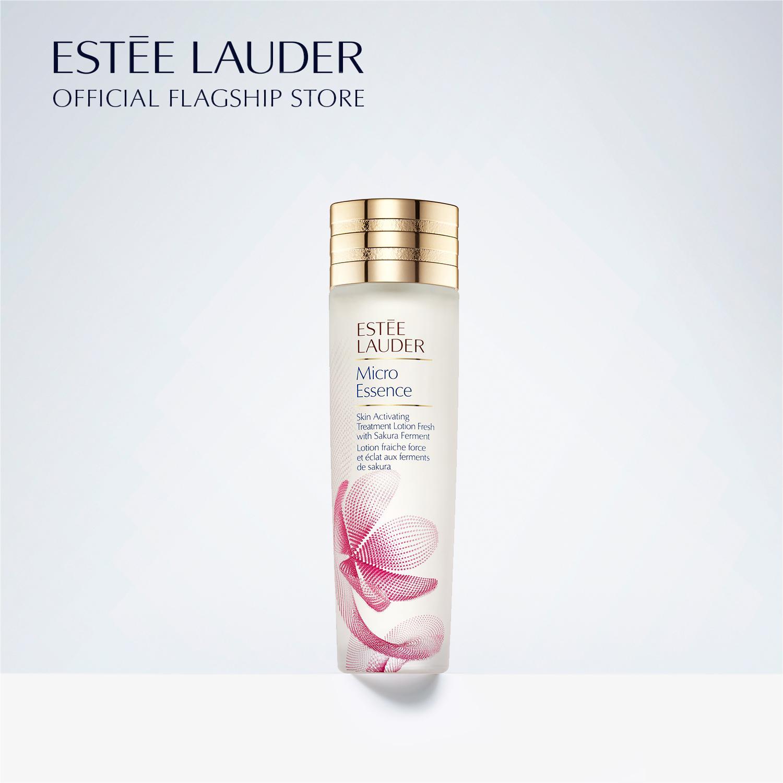 Nước dưỡng tinh chất với men hoa anh đào Estee Lauder Micro Essence Skin Activating Treatment Lotion Fresh with Sakura Ferment 200ml tốt nhất